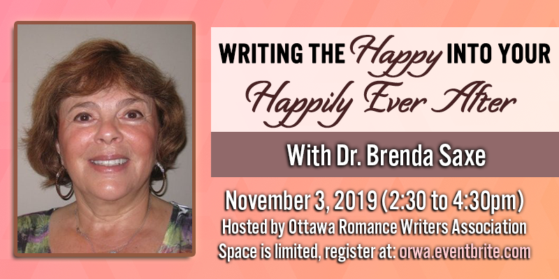 November 2019: Writing the Happy into your Happily Ever After