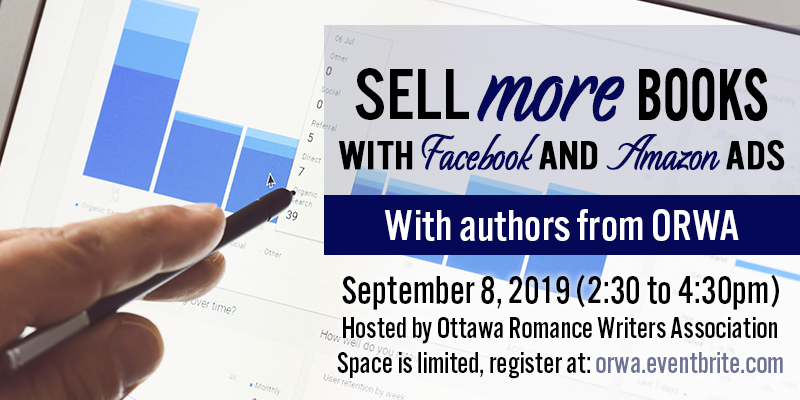 September 2019: Selling more books with ads on Facebook and Amazon