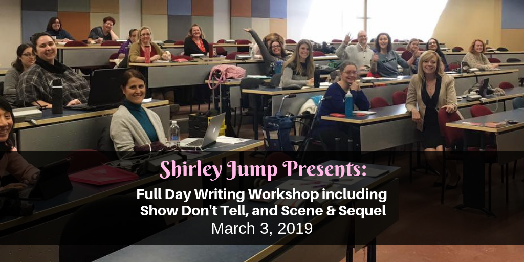 Recap March 2019: Full day writing workshop: Show, don't tell and scene/sequel