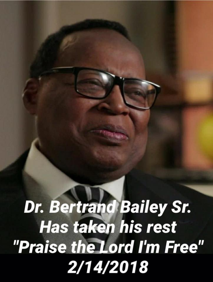 BAILEY FAMILY ANNOUNCES THE PASSING OF LOCAL PASTOR AND