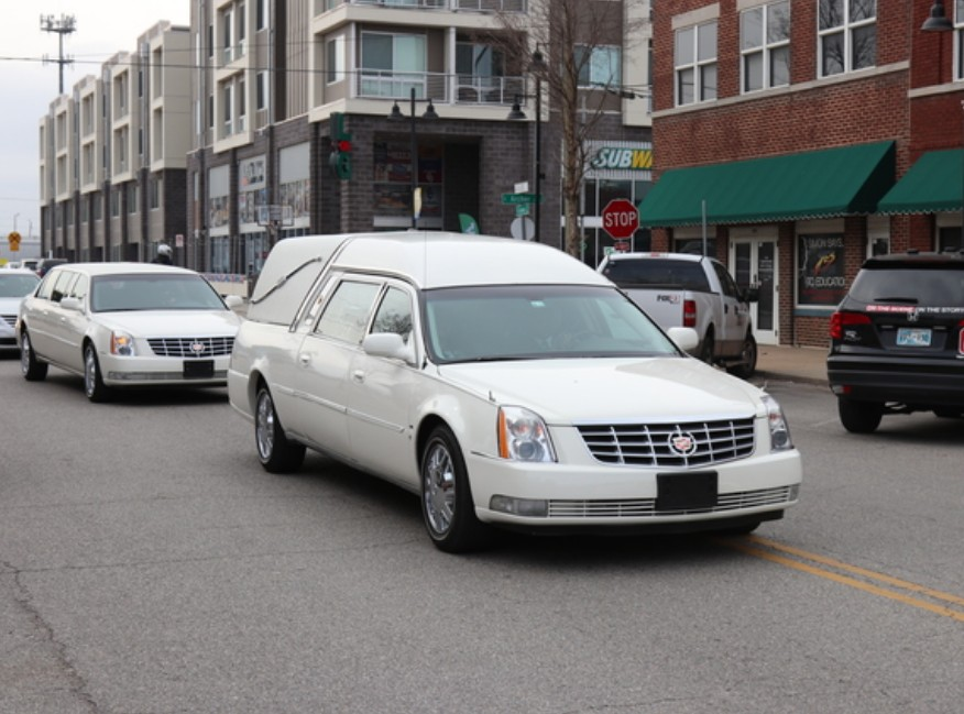 Ms . Hazel Smiths funeral procession flows through Tulsa's historic Greenwood district Saturday March 10th, 2018 Photo Credit JD Media