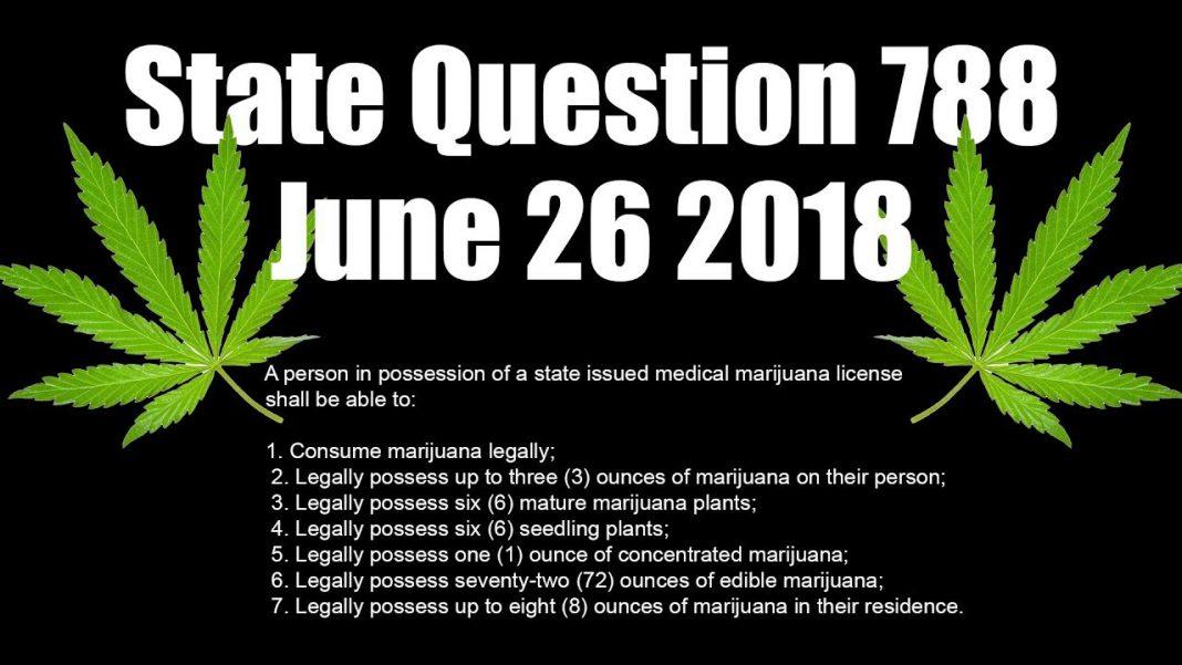 State Question 788: Medical Marijuana Legalization