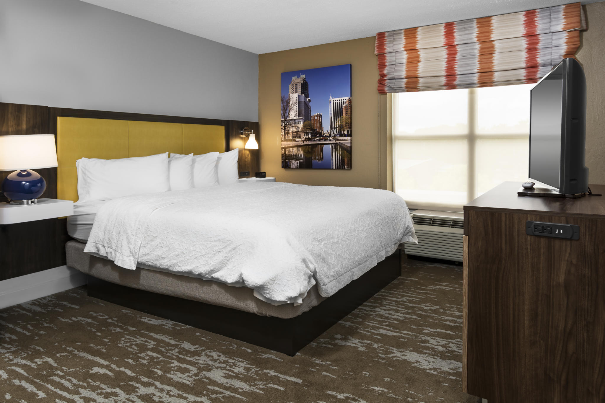 Hampton Inn & Suites Raleigh / Cary NC King Suite