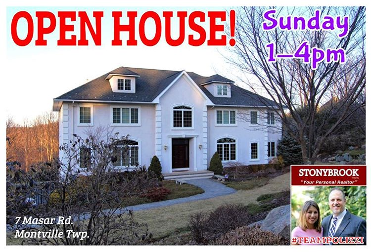 Open house tomorrow! 7 Masar Rd See you there TeamPolizzi
