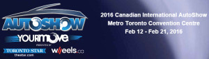 Canadian International Auto Show - 2016 @ Canadian International Auto Show - MB Visit | Toronto | Ontario | Canada