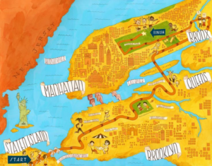 NYC Marathon Course