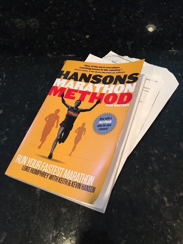 Perry Week 6 Training Hansons Marathon Method Book