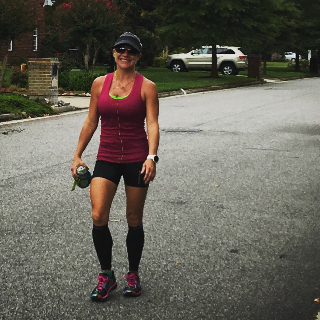 Stacy Sasnett Marathon Training