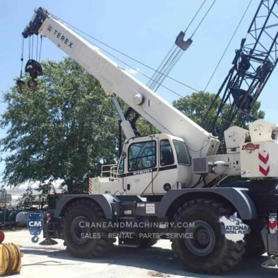 2016 Terex RT670 rough terrain crane rentals and sales. RT670 crane available from Crane & Machinery for Chicago and North America. Contact us for rates