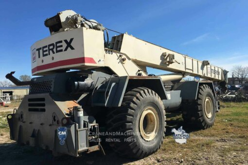 Terex RT 665 -Terex RT Crane rentals for Chicago, and North America. Long term and short term rentals available. Purchase new or used Terex RT cranes at Crane & Machinery