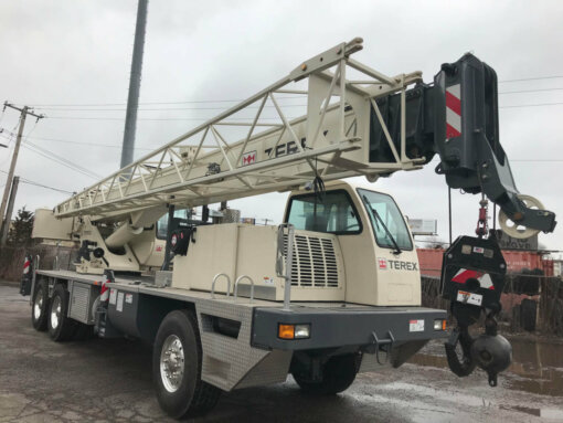 Front End of a T340-1 Truck Crane