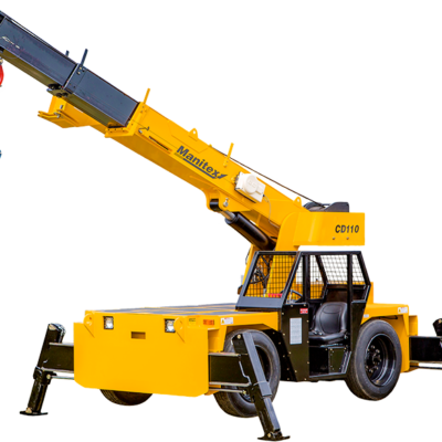 Manitex CD110 Truck Crane With Legs Extended