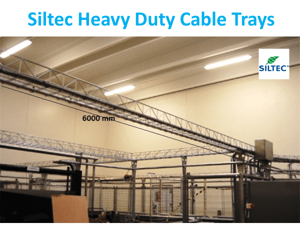 Siltec Heavy Duty Cable Trays
