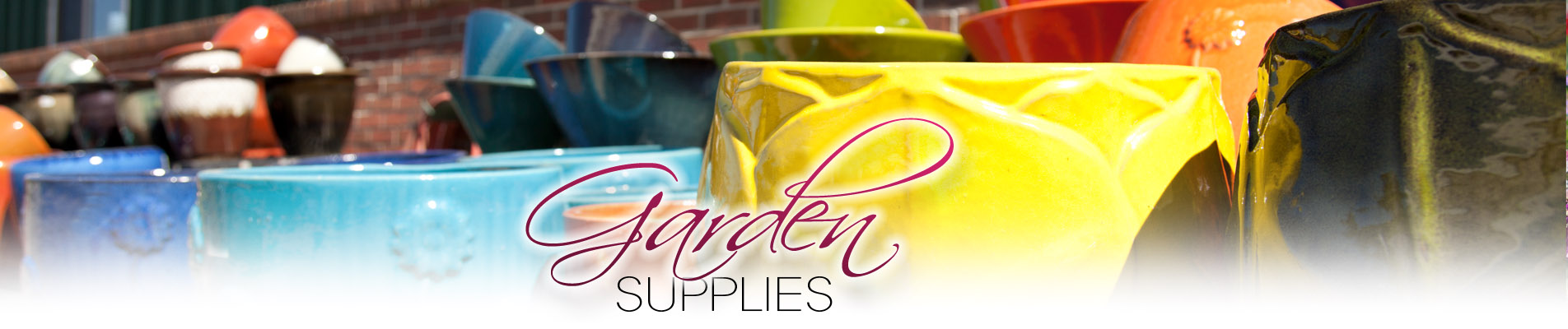 Garden Supplies at Homestead Garden Center