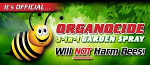 Insecticide that won't kill bees at Homestead Garden Center