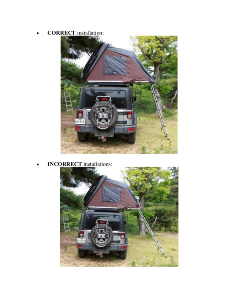jeep rental bc british columbia canada rooftop tent instructions