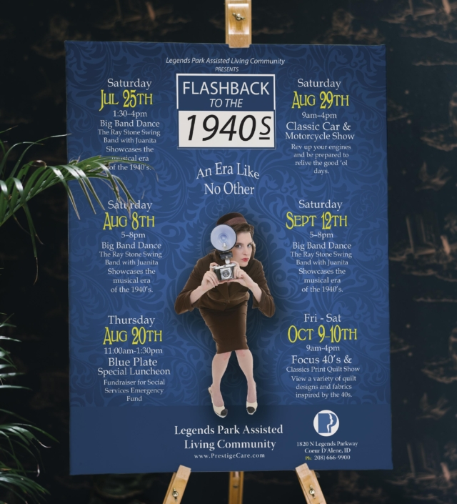 Flashback to the 1940s Event