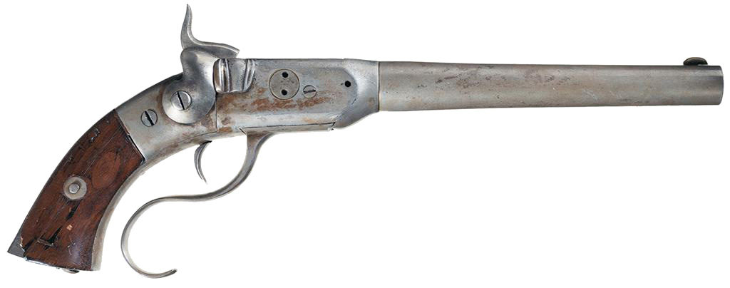 Perry Breech-Loading Single Shot Pistol