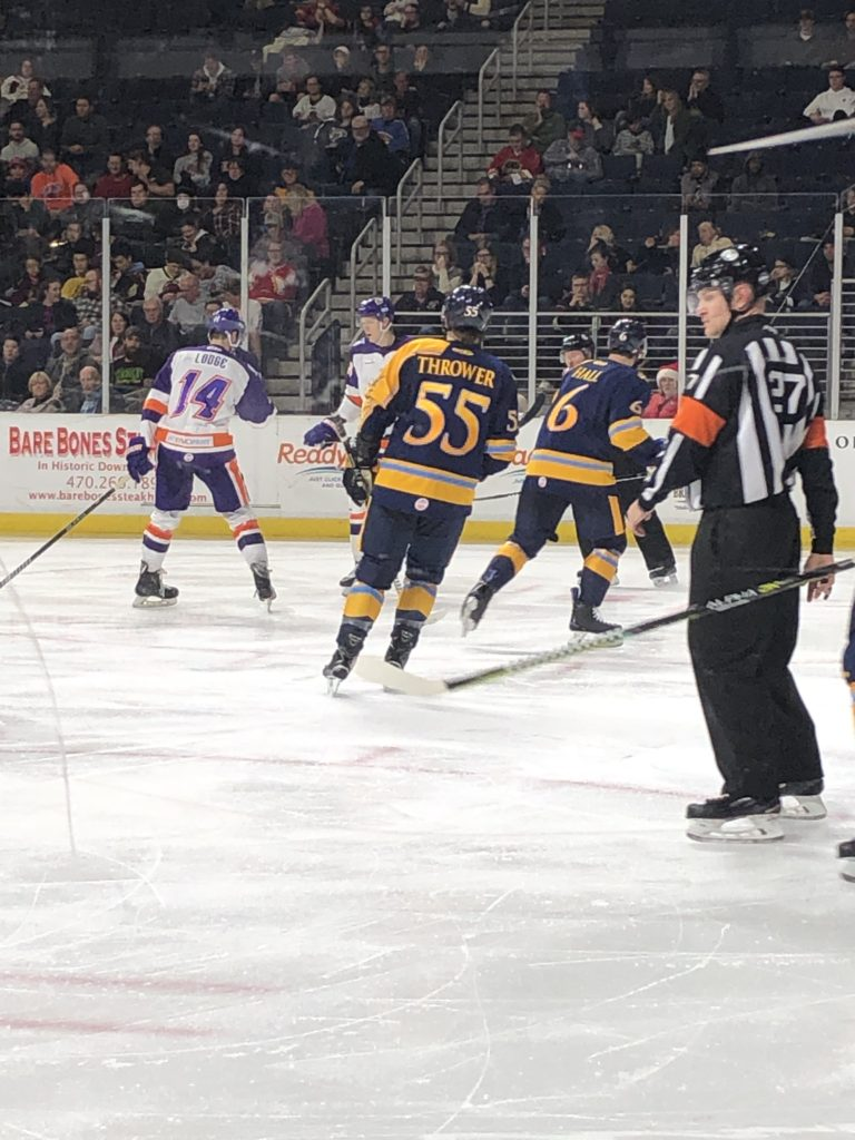Penalties, Frustrations, and Fights : Glads fall to Solar Bears