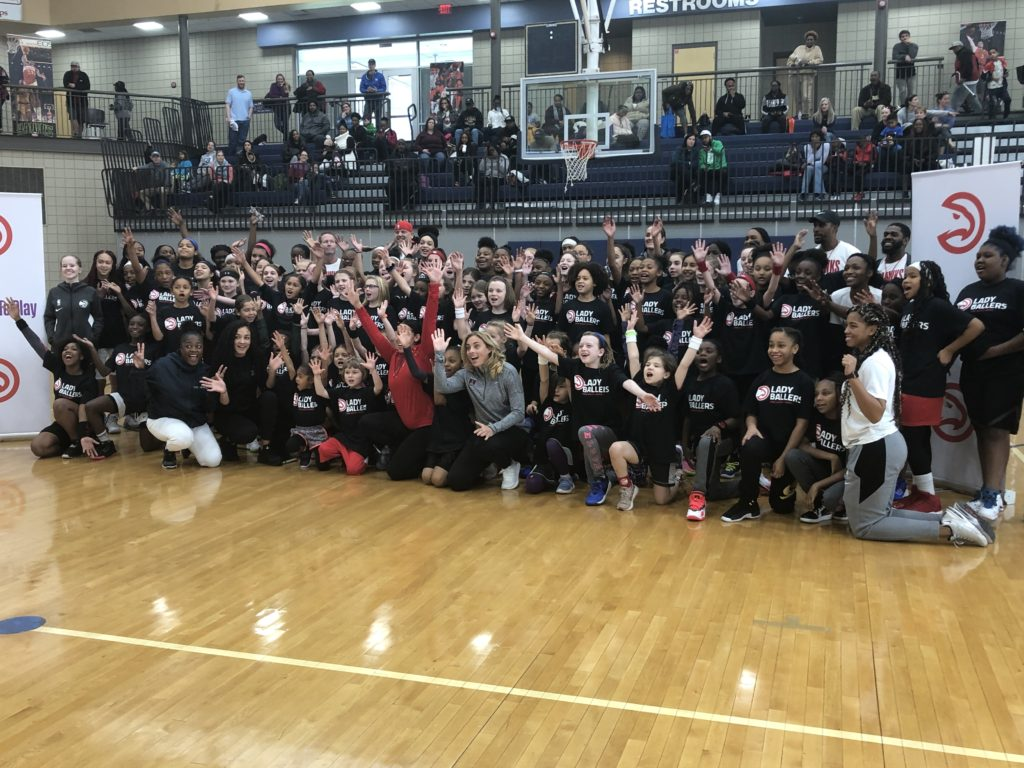 90 Girls Attend The Lady Ballers Holiday Clinic