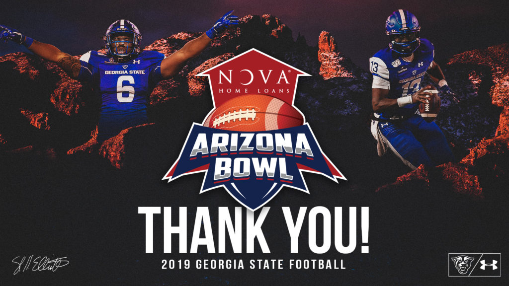 Georgia State fell 38-17 to Wyoming in the NOVA Home Loans Arizona Bowl; Panthers still win with extraordinary senior class