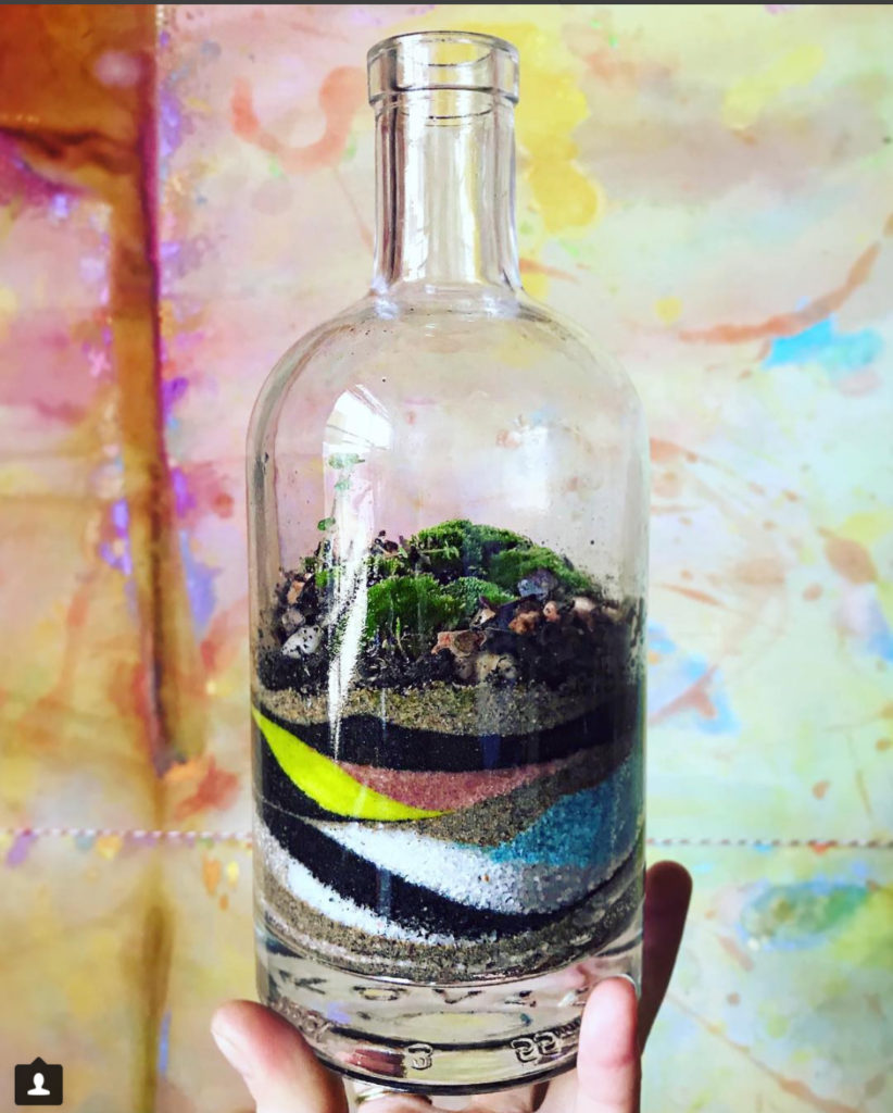 NT Koval Spirits Bottle Terrarium