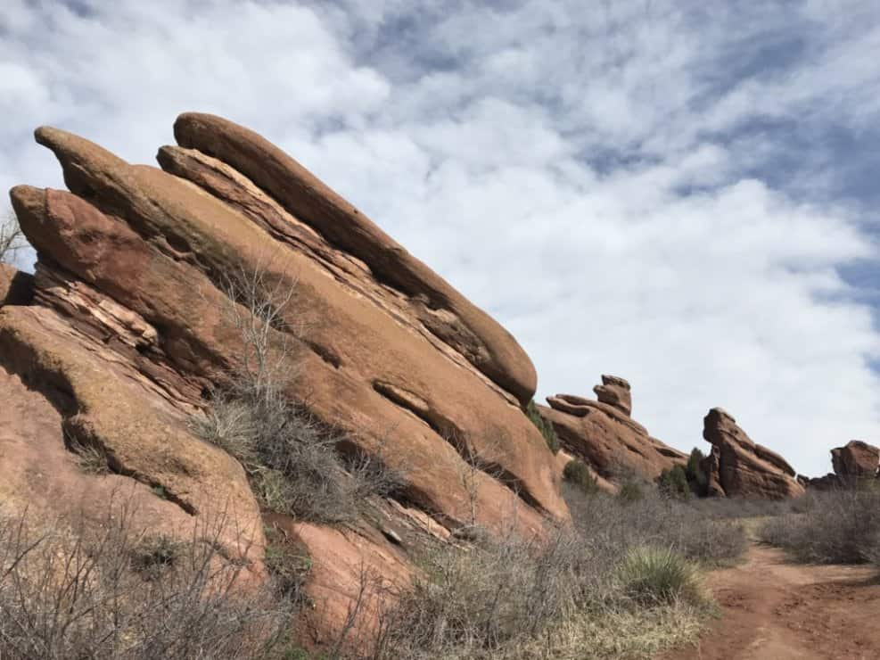 Red Rock stack