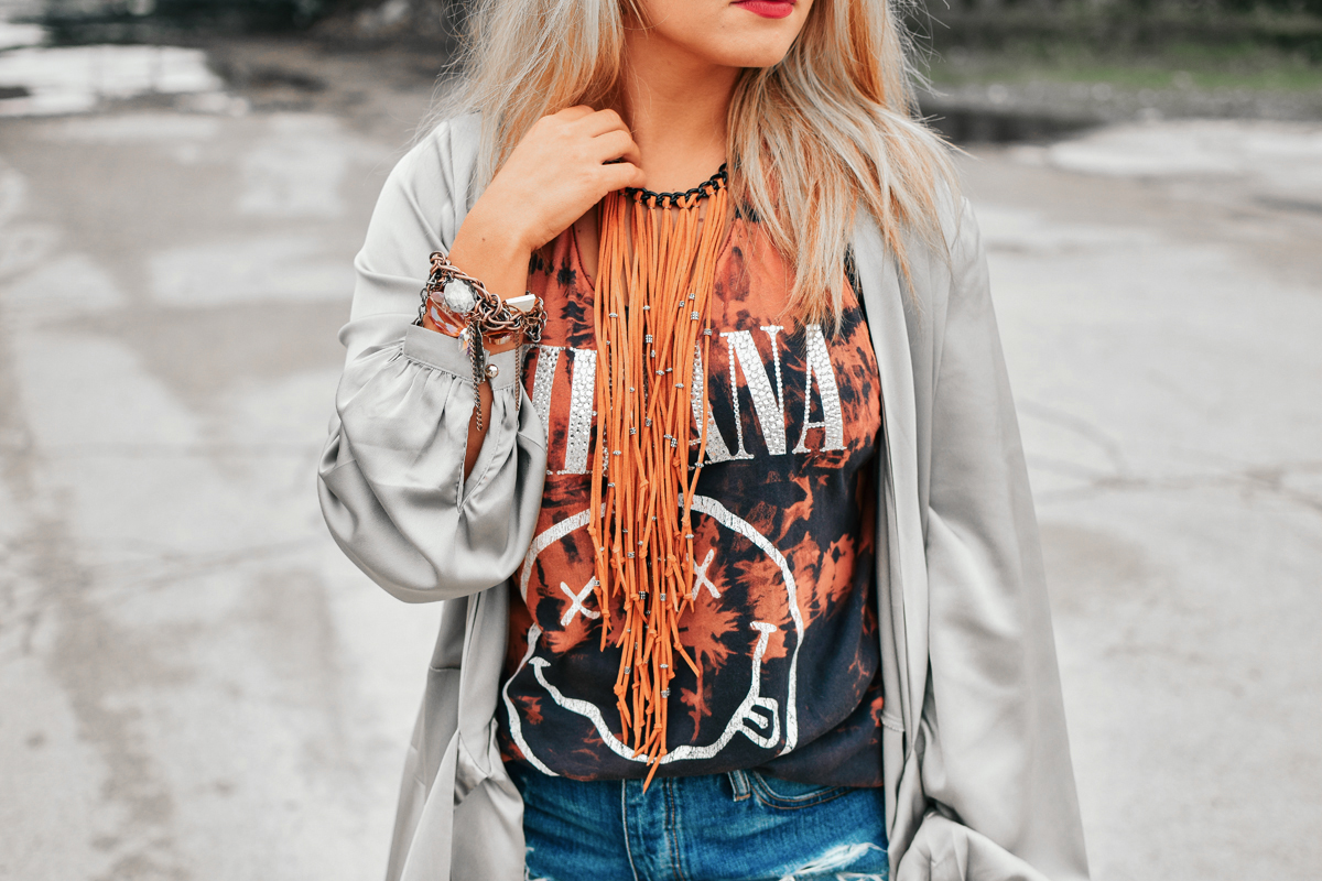 bleach lookbook - rock chic style by Quiet Lion Creations