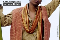 Authentic Indian Fashion.