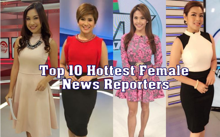 Top 10 Hottest Female News Reporters