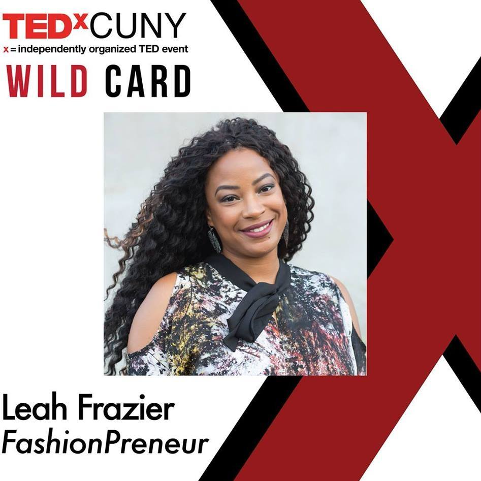 Leah Frazier TED X CUNY