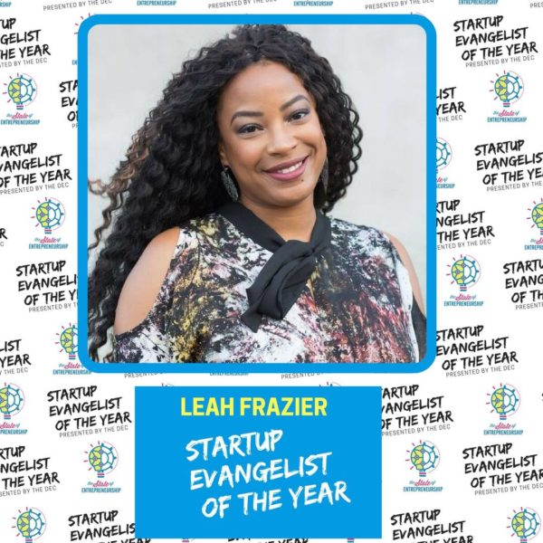 Leah Frazier 2018 Startup Evangelist of the Year