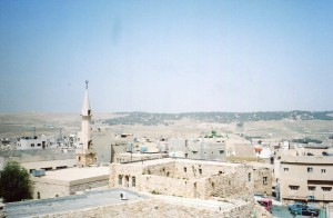 A town in Jordan, praying for continuing peace.