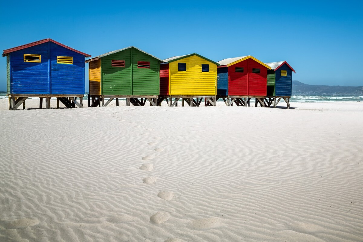 colored-housed-on-beach