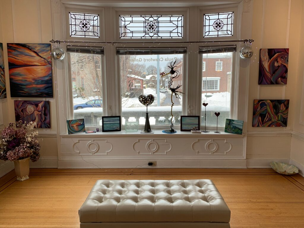 Gallery front room