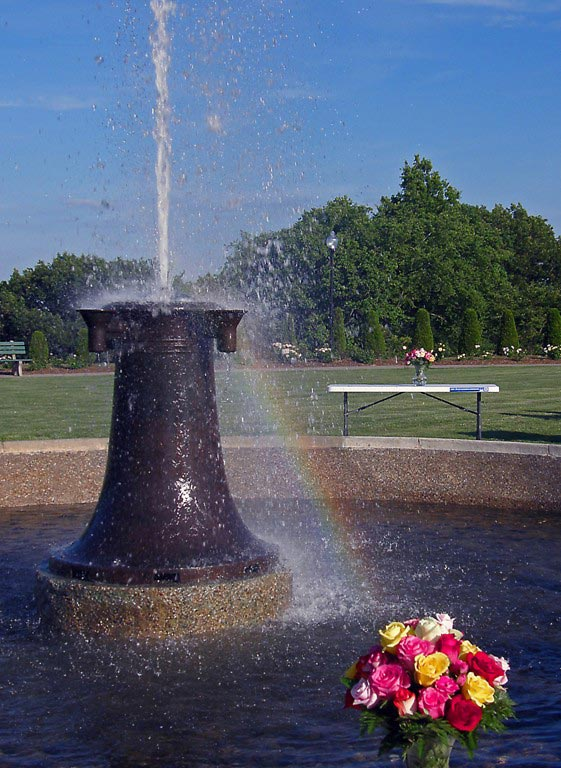 The First Anniversary Of The Walnut Hill Rose Garden