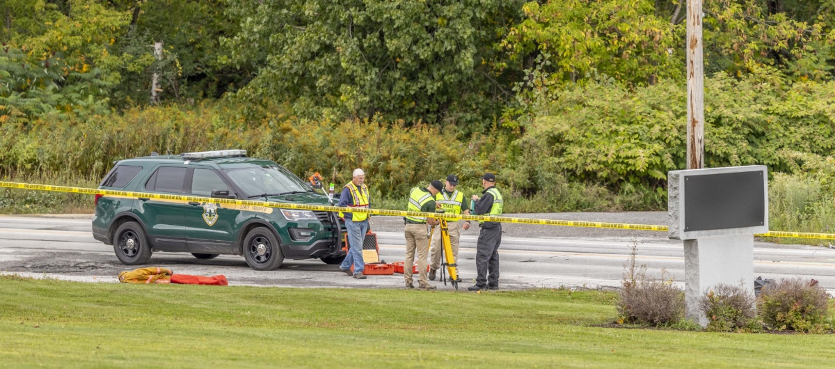 POLICE INVESTIGATE DOUBLE FATAL CRASH IN ST. ALBANS TOWN