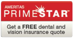 Free dental and vision quote button