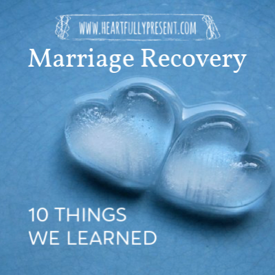 marriage recovery