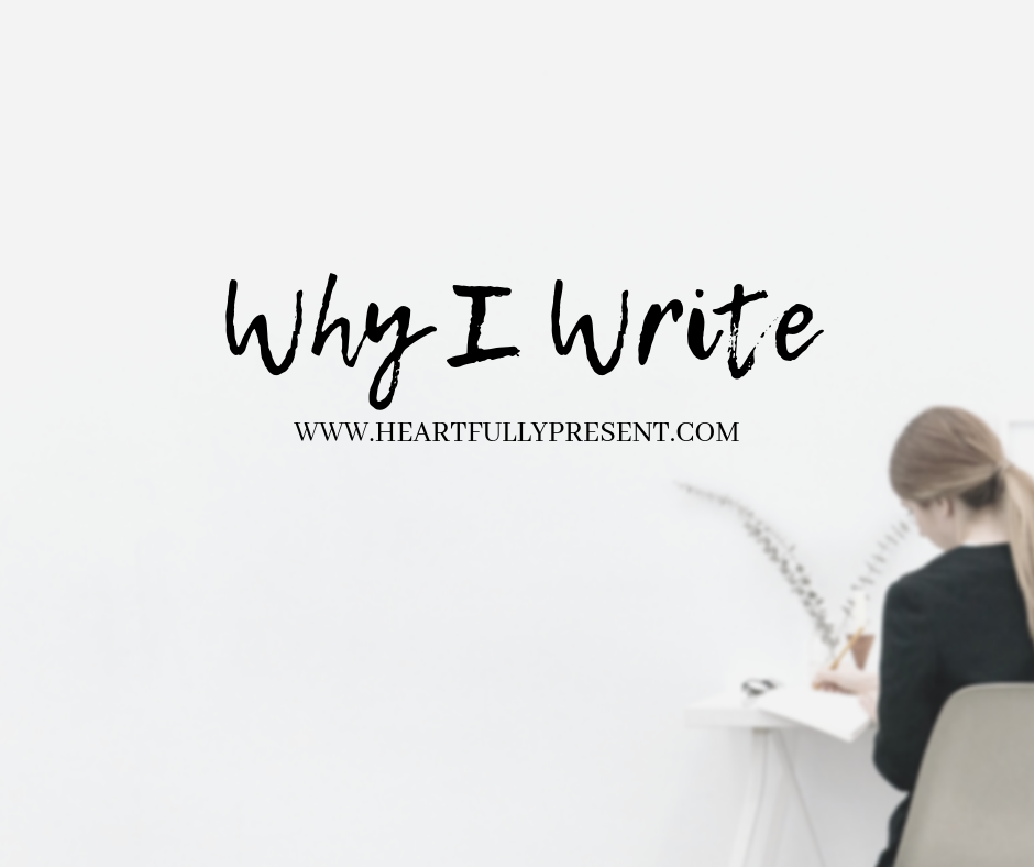 Why I Write | woman writing | find your purpose