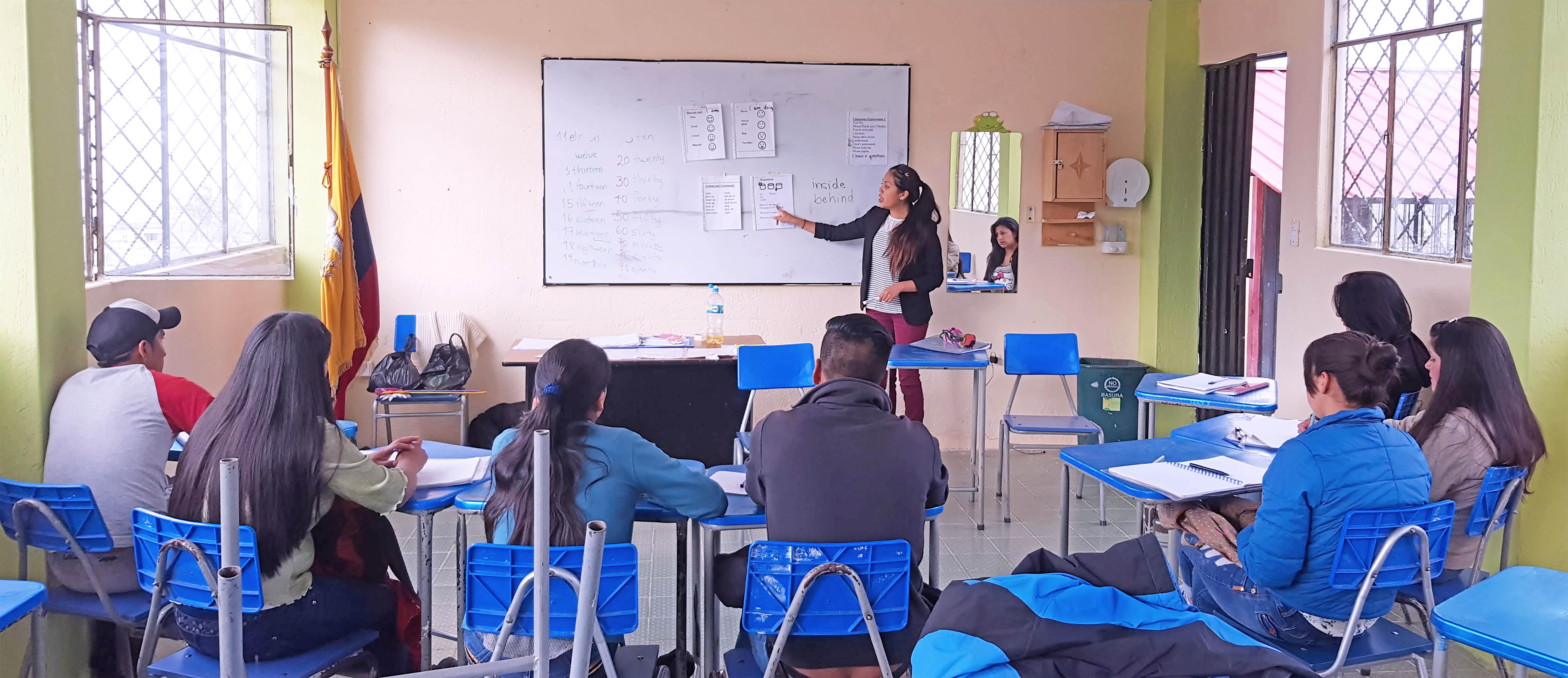 English Instruction for Community-based Tourism in Ecuador
