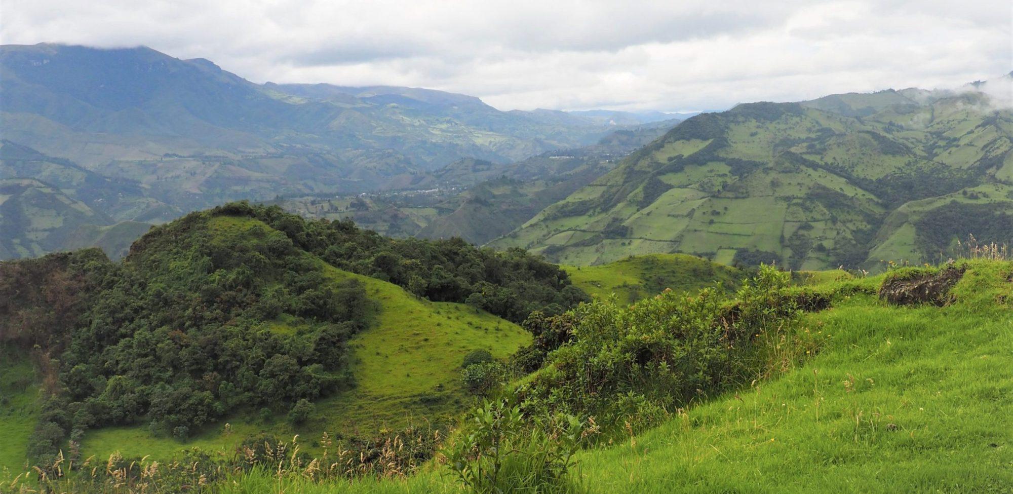 Community tourism in Ecuador: Route 1