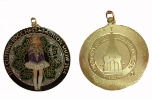 The 2014 medal – Irish Dancer