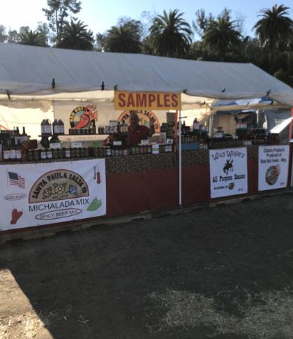 Santa Paula Pumkin Patch Food Vendor