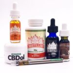 All types of CBD at the cbdistillery