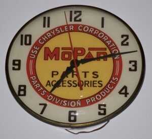 Mopar Parts & Accessories Clock