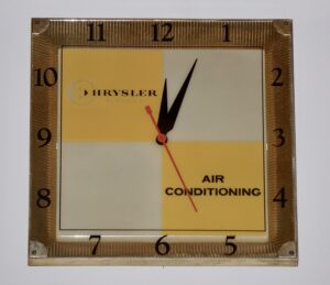 Chrysler Air Conditioning Clock