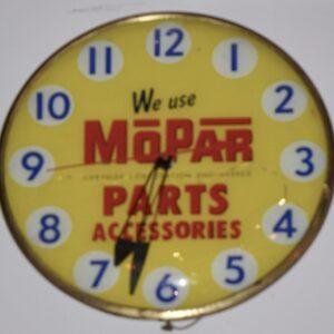Mopar Clock