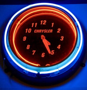 Chrysler Clock