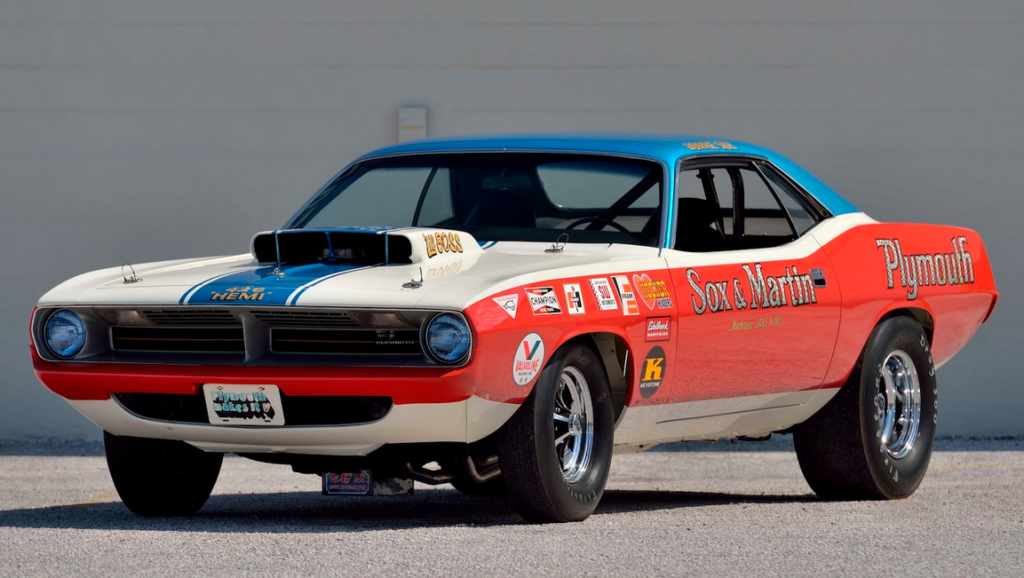 1970 Sox & Martin Plymouth<br>Hemi Barracuda GT1
